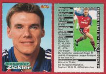 Bayern Munich Alexander Zickler Germany